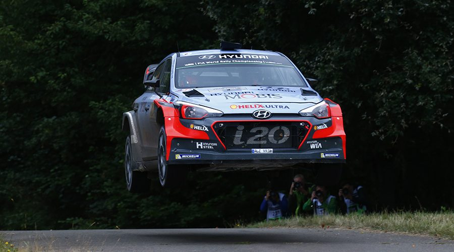 2016 FIA World Rally Championship / Round 09, Rallye Deutschland 2016 / August 18-21, 2016 // Worldwide Copyright: Hyundai Motorsport