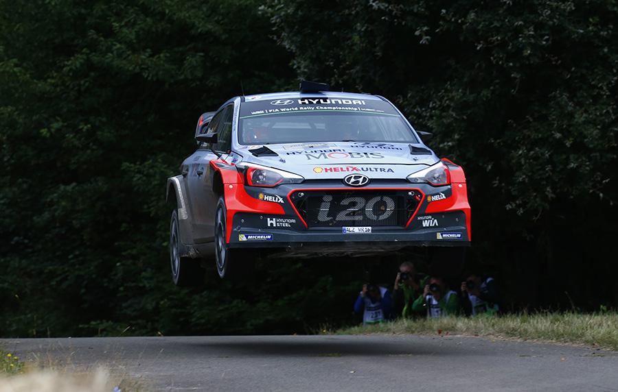 2016 FIA World Rally Championship / Round 09, Rallye Deutschland 2016 / August 18-21, 2016 // Worldwide Copyright: Hyundai Motorsport