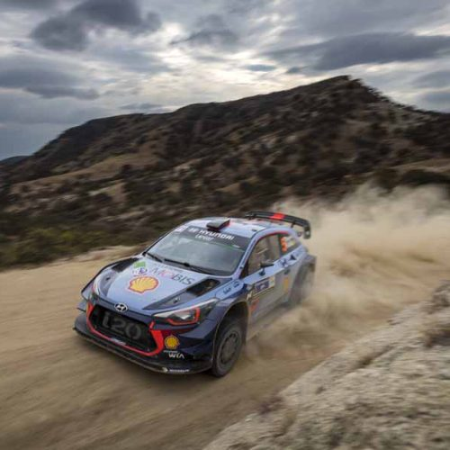 2017 FIA World Rally Championship Round 03, Rally Mexico 08-12 March 2017 Thierry Neuville, Nicolas Gilsoul, Hyundai i20 Coupe WRC  Photographer: Austral Worldwide copyright: Hyundai Motorsport GmbH