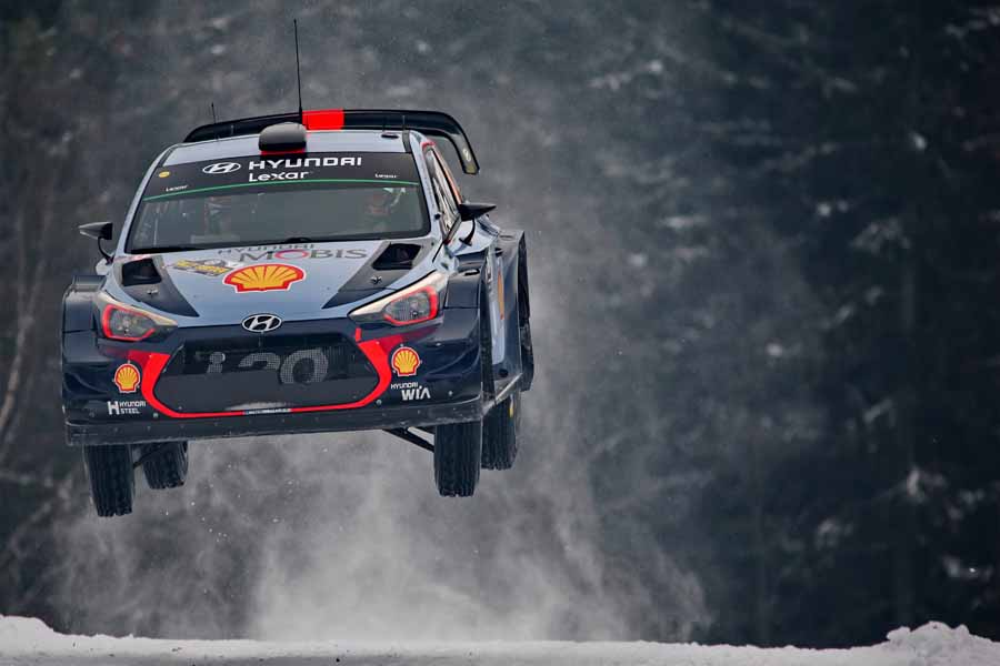 2017 FIA World Rally Championship Round 02, Rally Sweden 09-12 February 2017,  Thierry Neuville, Nicolas Gilsoul, Hyundai i20 Coupe WRC,  Photographer: RaceEmotion,  Worldwide copyright: Hyundai Motorsport GmbH