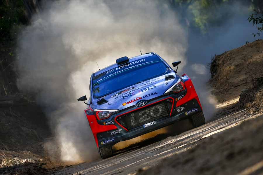 2016 FIA World Rally Championship / Round 14 / Rally Australia / November 17-20, 2016 // Worldwide Copyright: Hyundai Motorsport